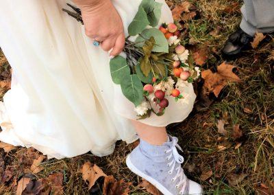 Casual Wedding in Luray