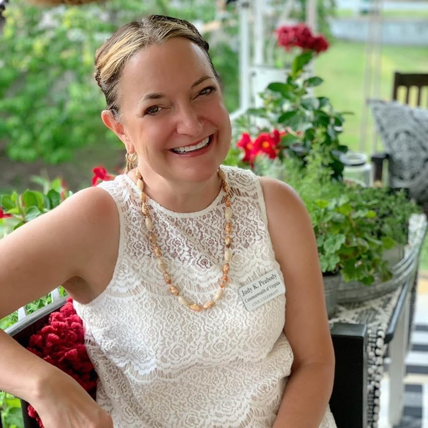 Judy Peabody Marriage Officiant Luray VA